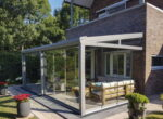 Fris Antraciet | Serre met glazen dak en wand | De tuinkamer