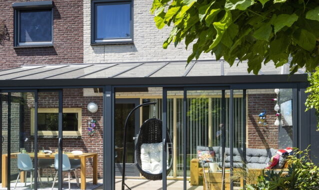 Veranda Enschede nieuwbouw