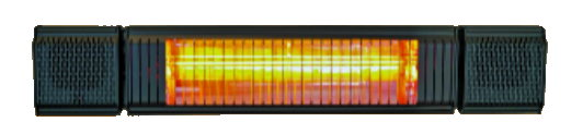 Infrarood warmte en geluidsinstallatie
