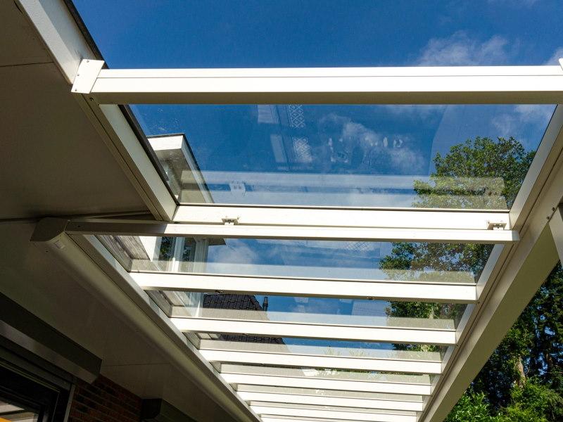 overkapping glas dak